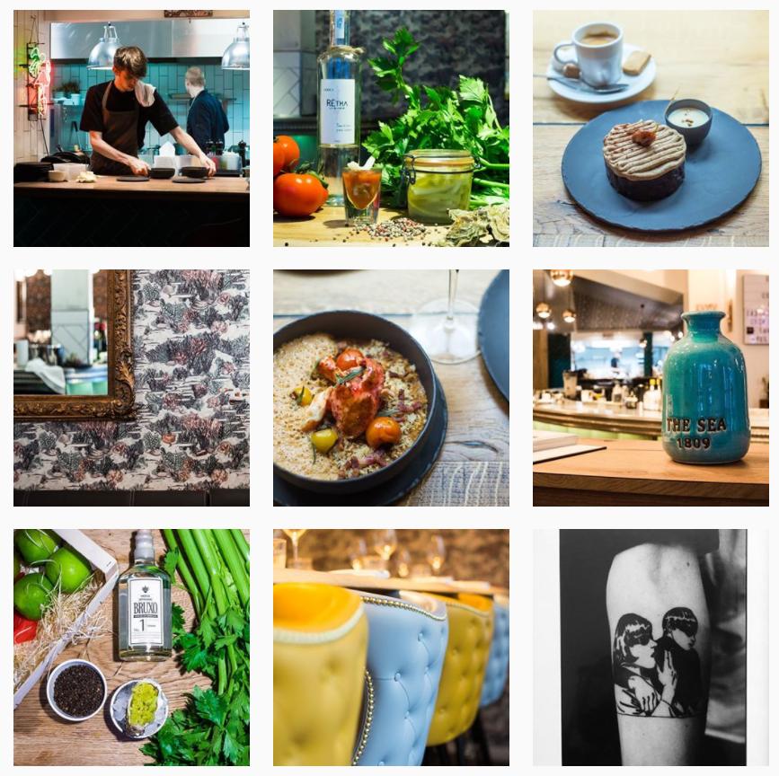 Image du compte Instagram du restaurant Istr
